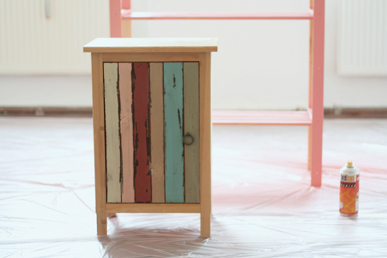 diy spray on f r bunte m bel alabaster blogzine. Black Bedroom Furniture Sets. Home Design Ideas
