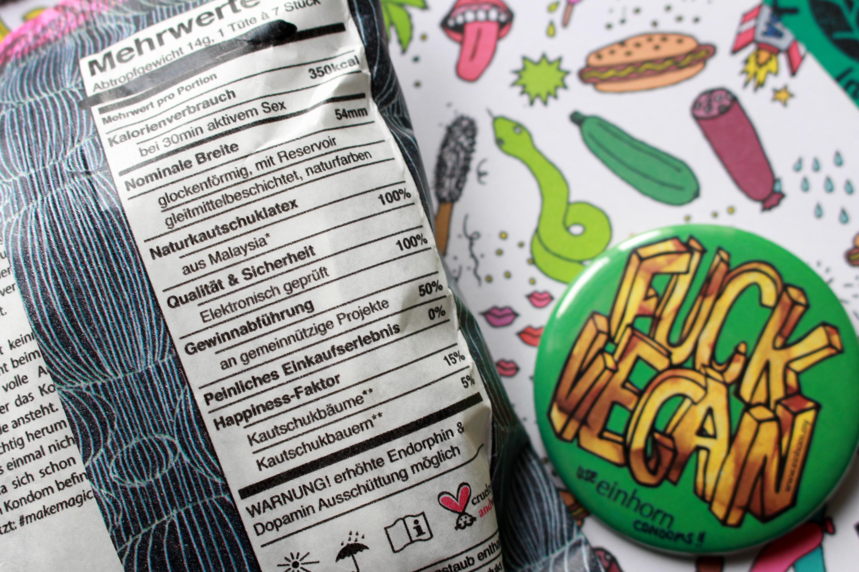 GREEN LOVE: Gleitgel & Kondome - fair & vegan   New Moon Club