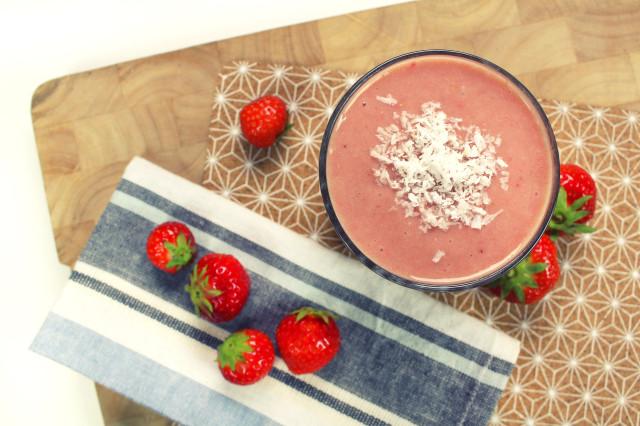 kaffee-bananen-erdbeer-smoothie-rezept