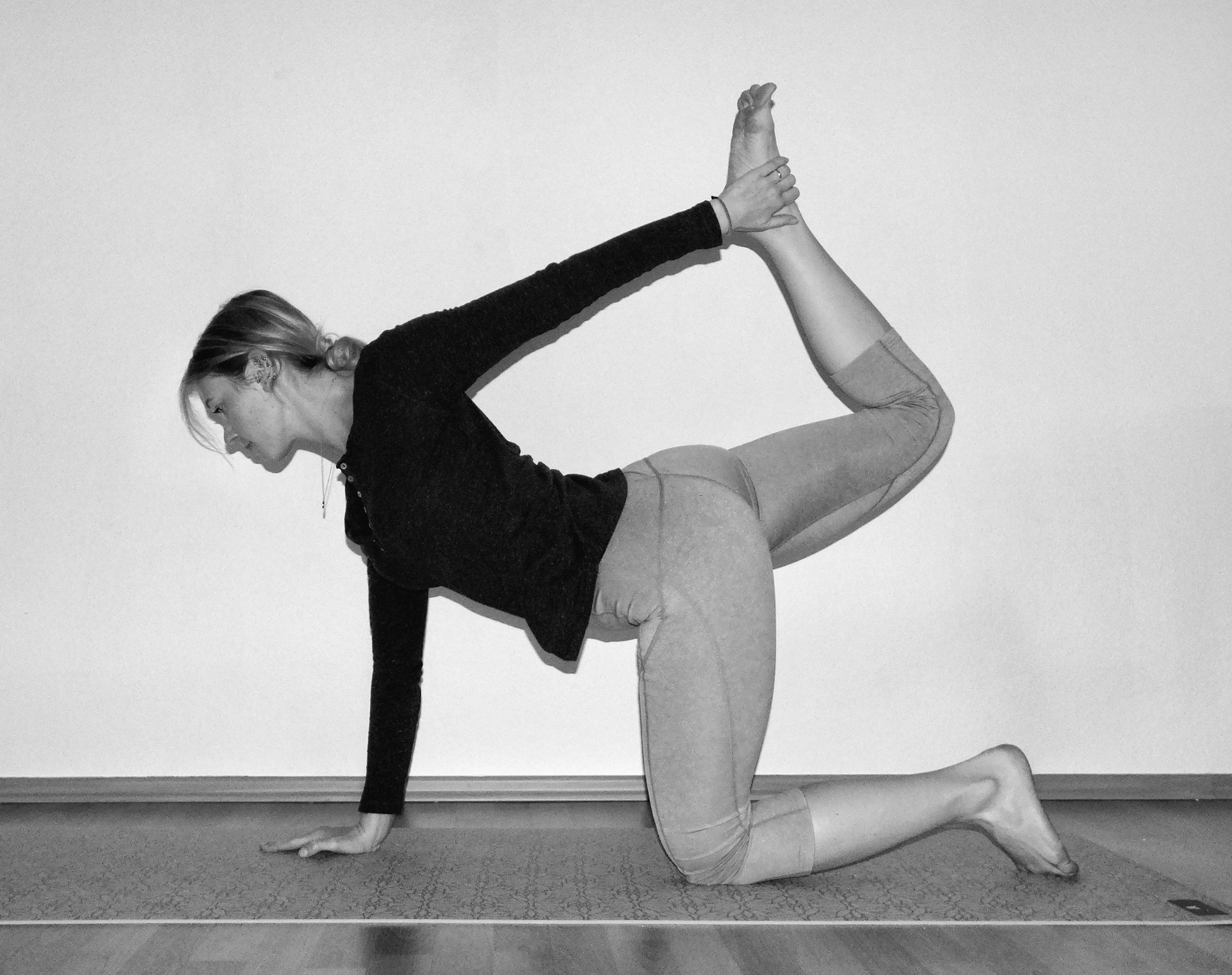 yoga-asana-modifizierter-vierfuesslerstand