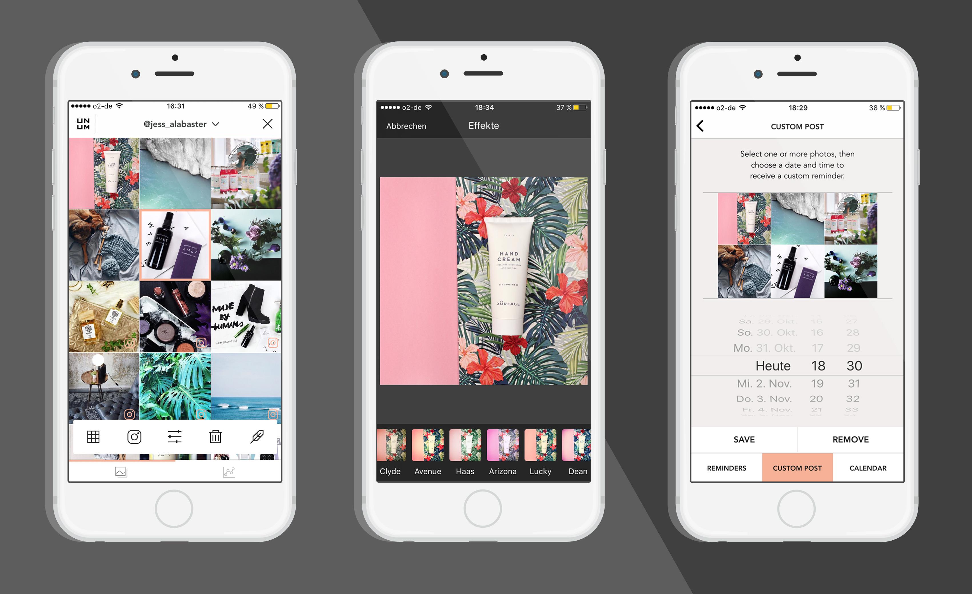 unum-instagram-app-bilder-anordnen-vorschau