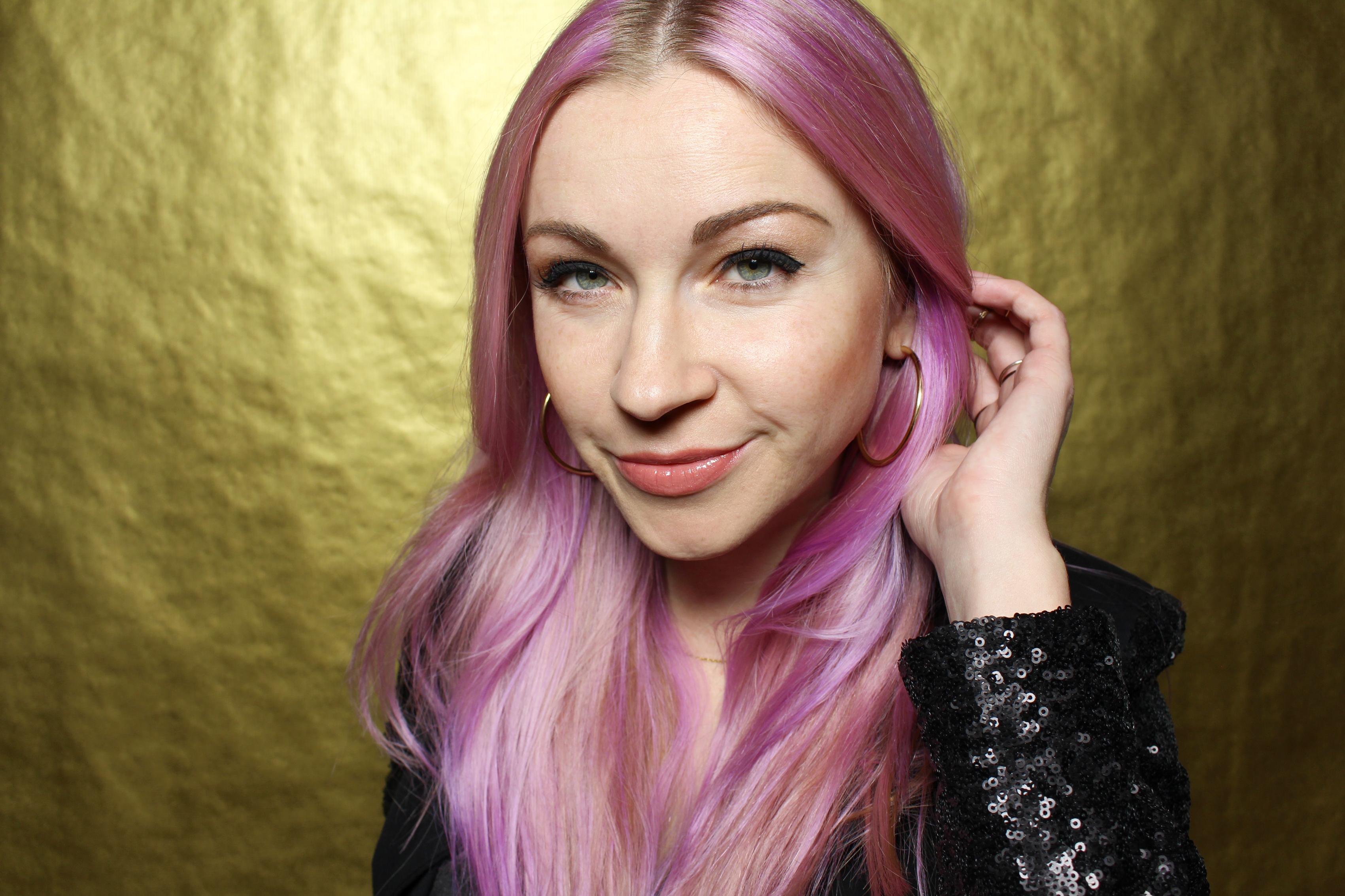 lavender-hair