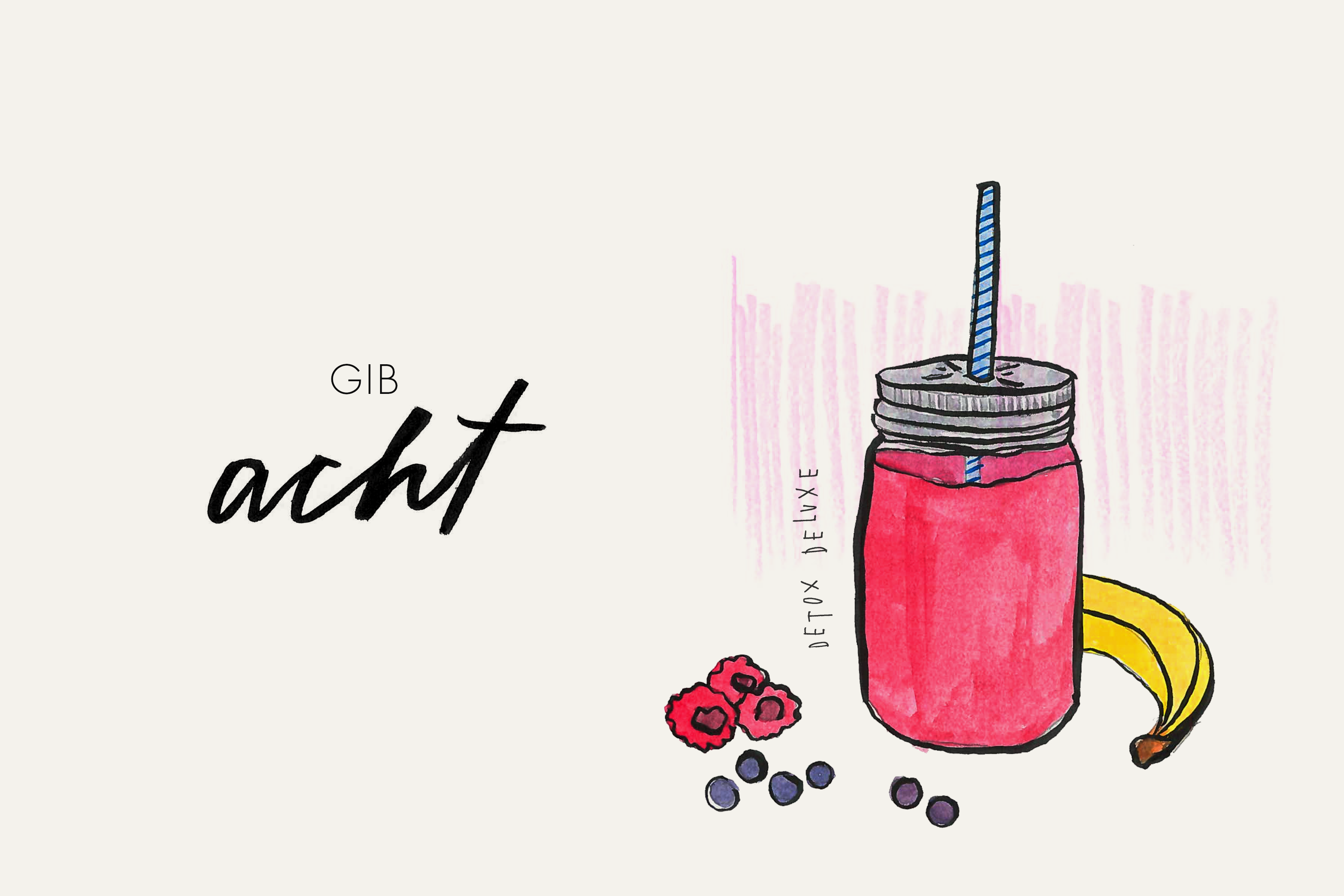 Illustration_Smoothie_Gemuese_Cleaneating