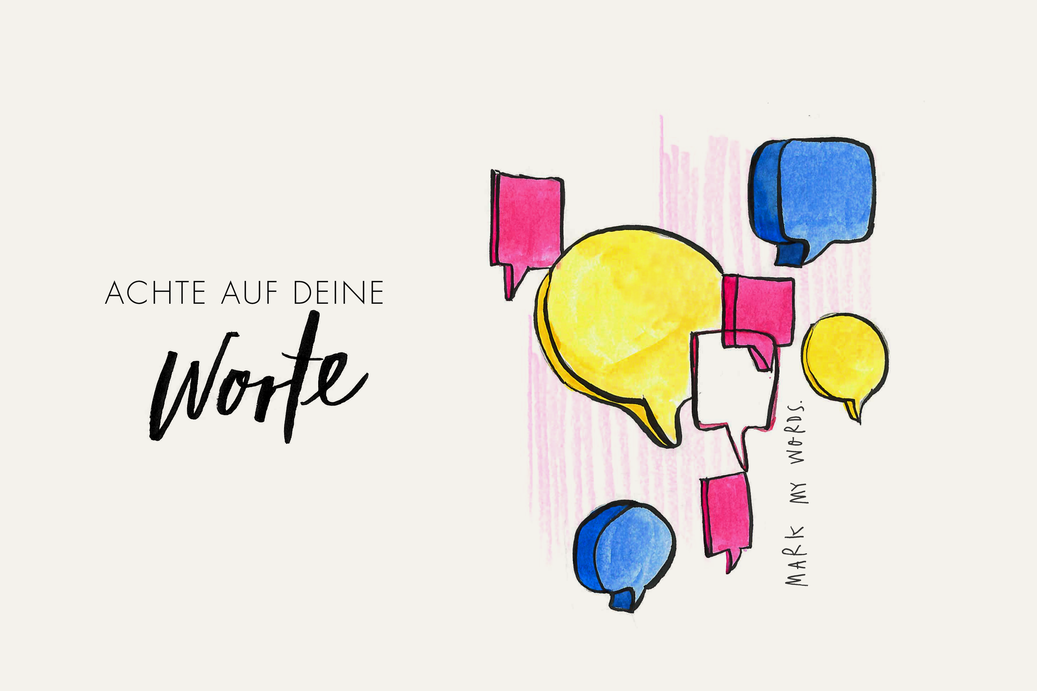Illustration_Worte_Sprache_Denken_Vorsatz