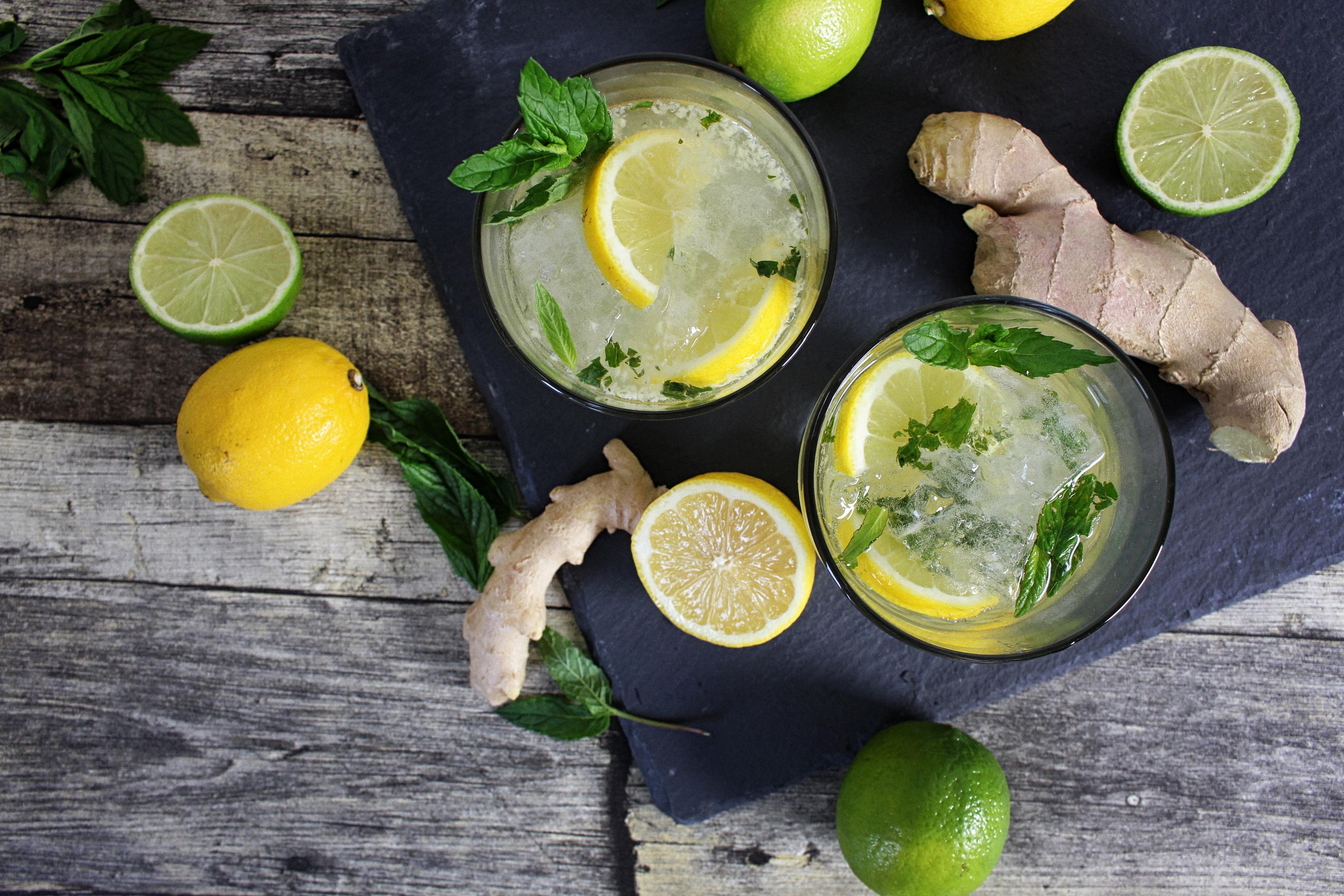 ingwer-limonade-ohne-zucker-rezept