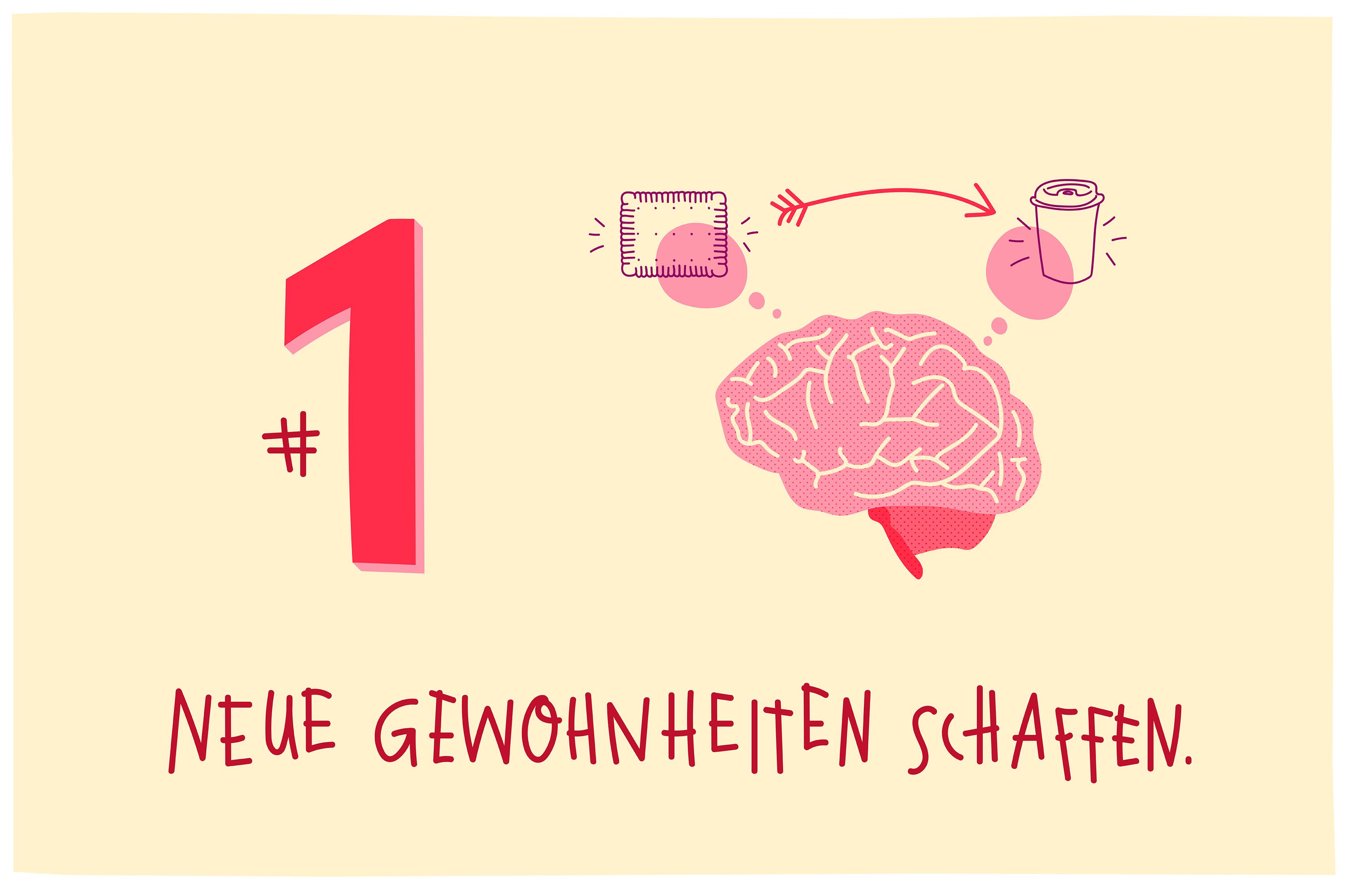 Zuckerfrei_leben_Illustration_Gehirn_Tipps_Clean_Eating