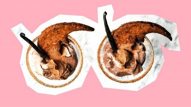 Veganes zuckerfreies Lebkuchen Parfait Lebensbaum