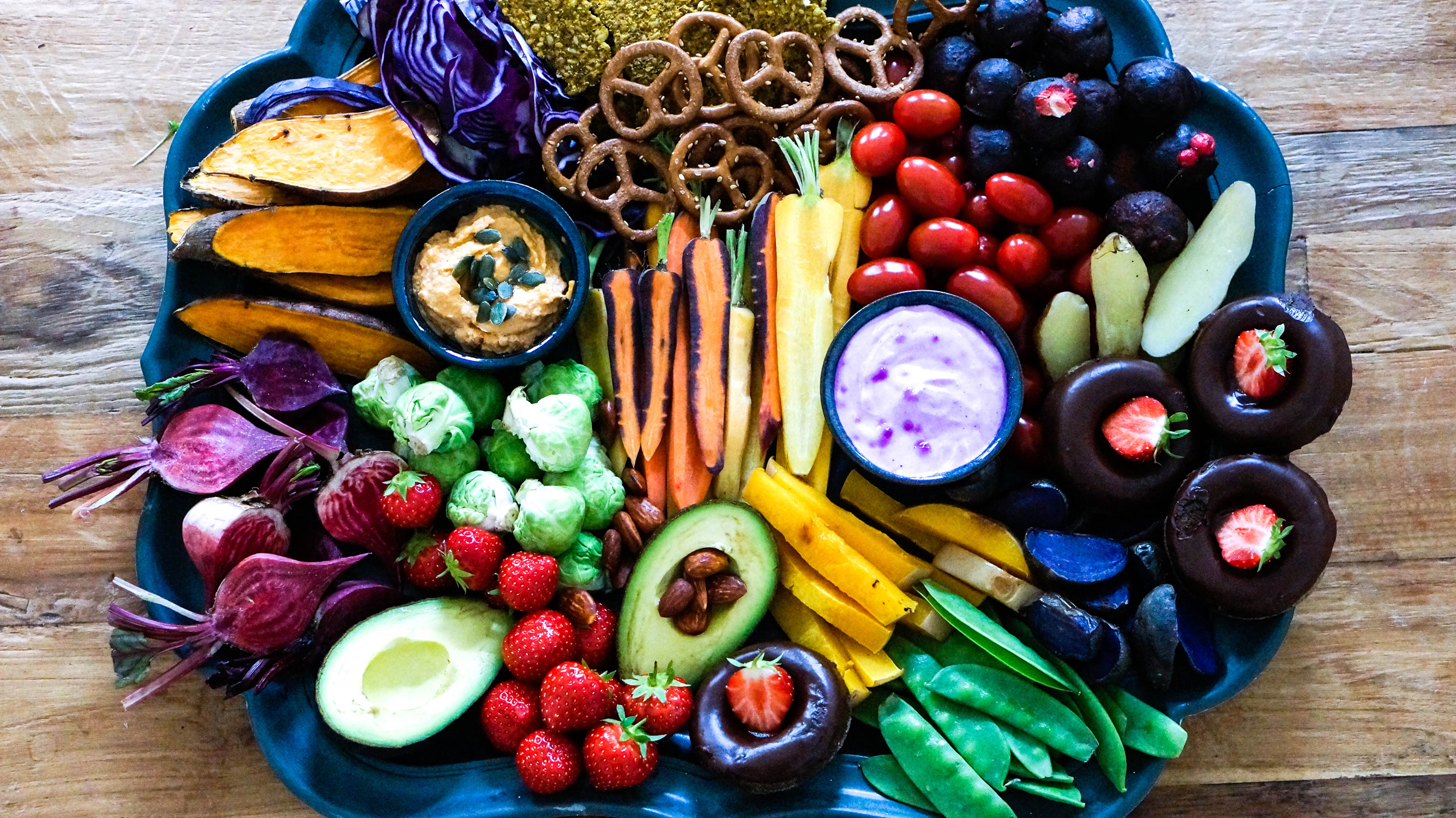 vegan-food-board