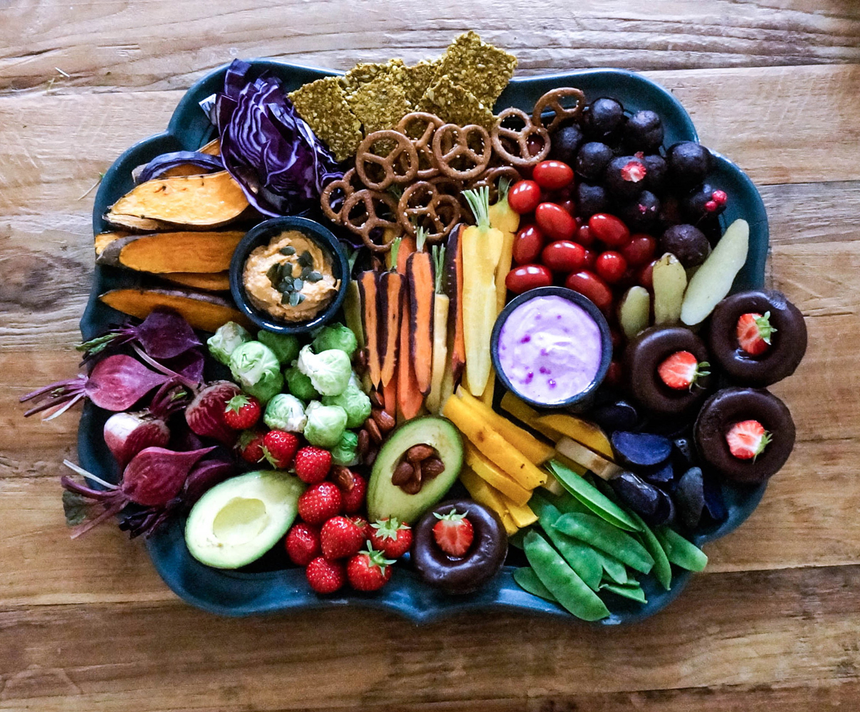 vegan-food-platter