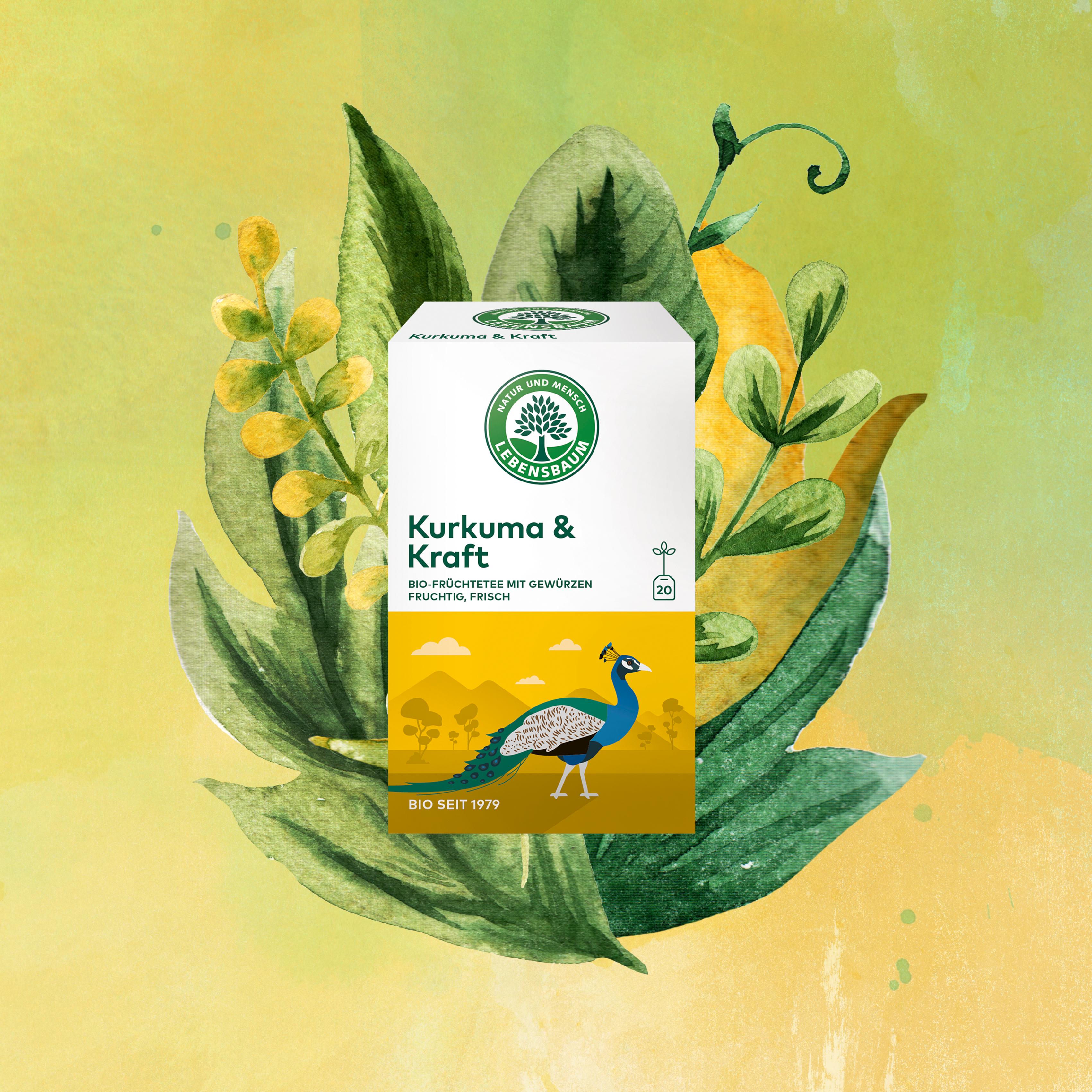 Lebensbaum Wanderlust Kurkuma & Kraft Golden Milk