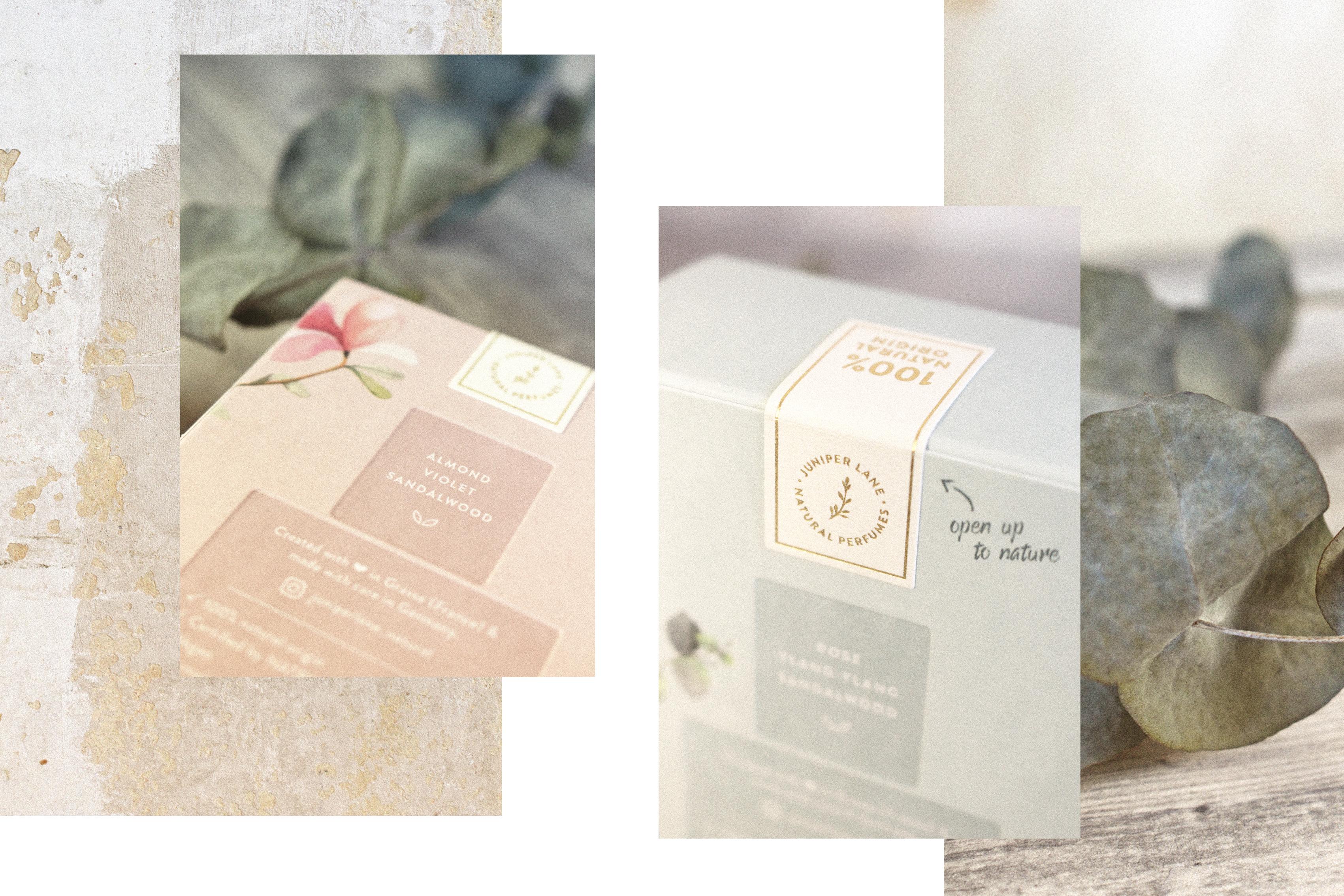 Umverpackungen von Moonflower und Wonderleaf
