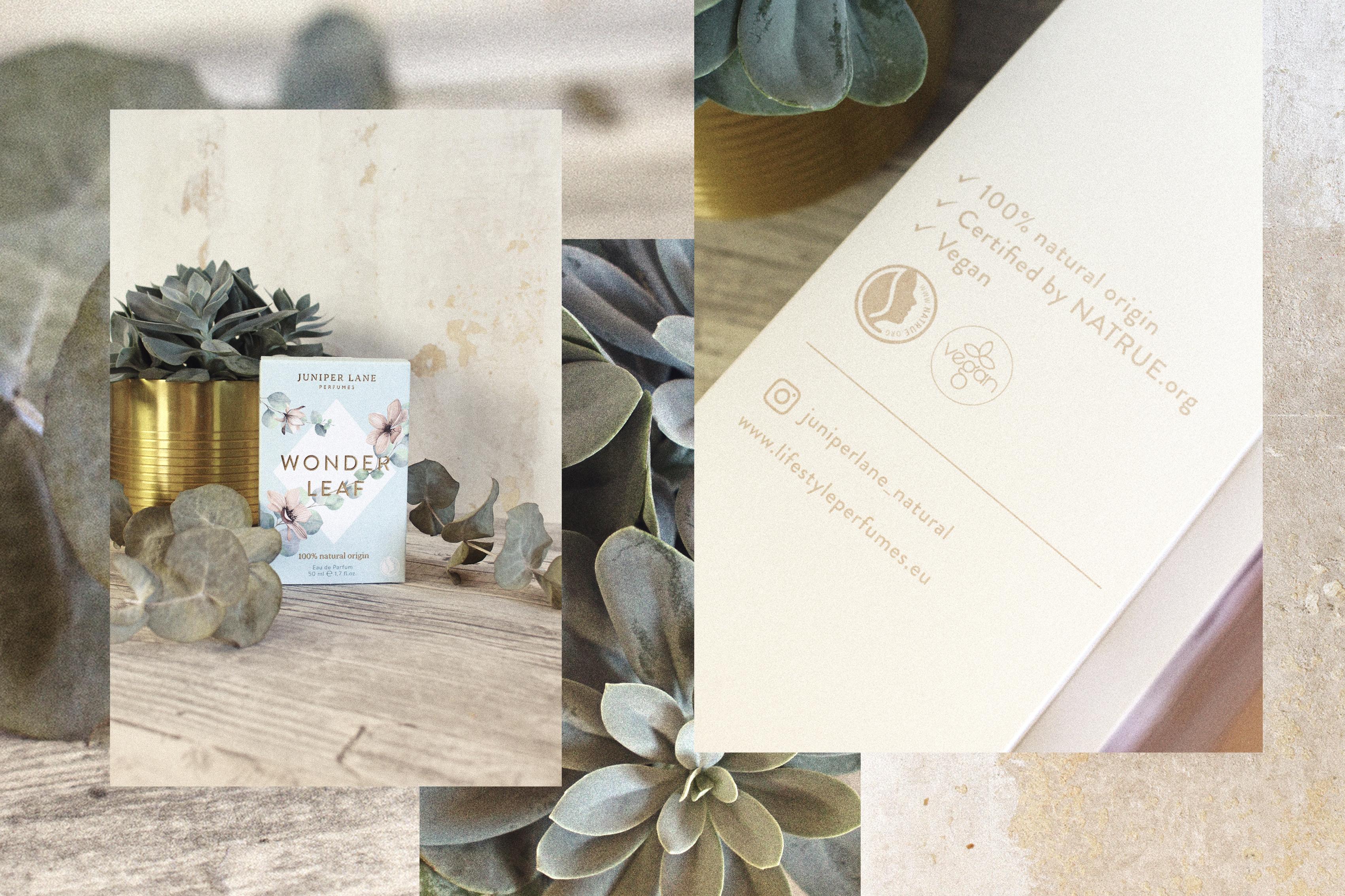 Juniper Lane Parfum Wonderleaf Verpackung