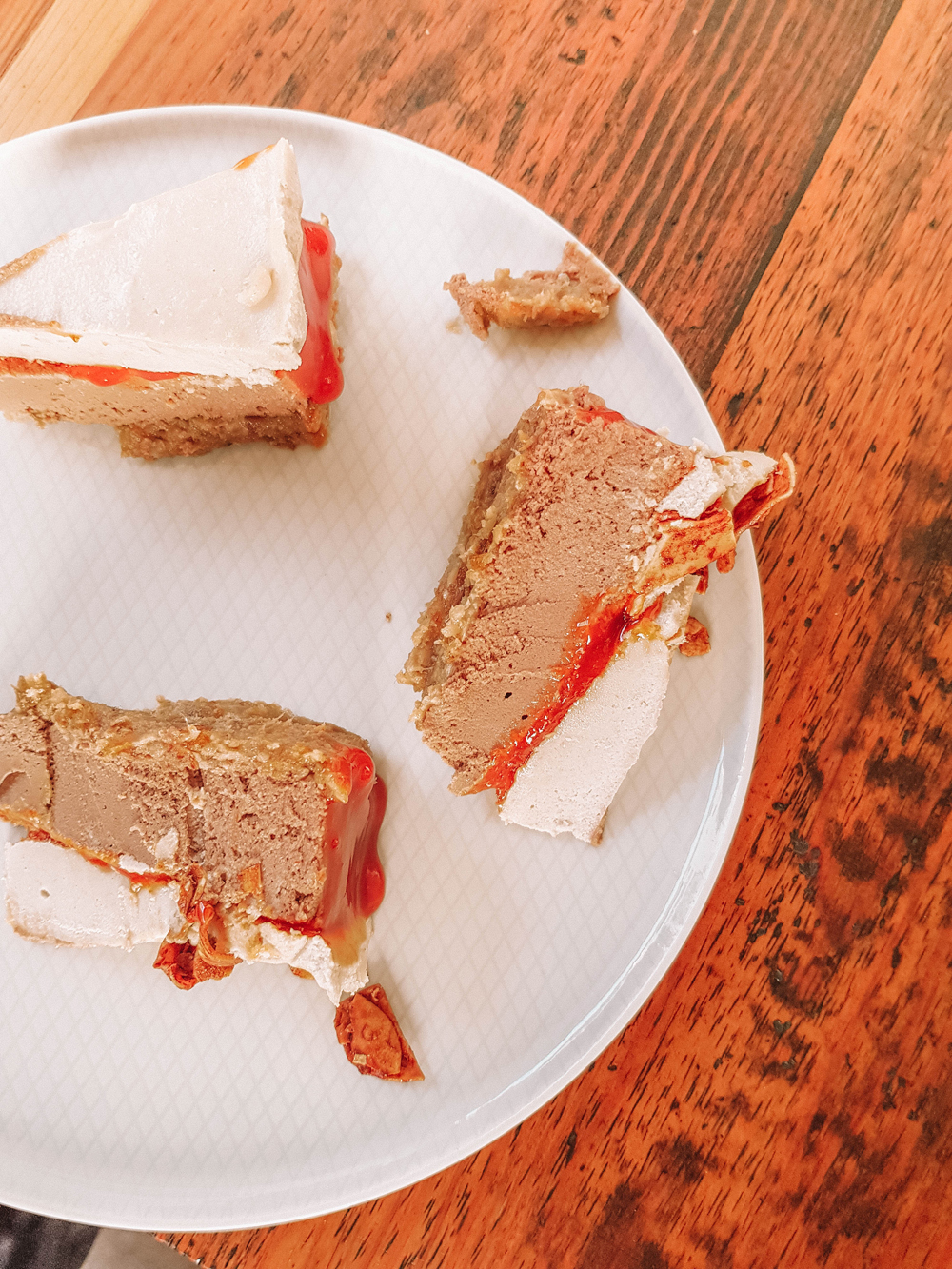 veganer Rohkost Cheesecake