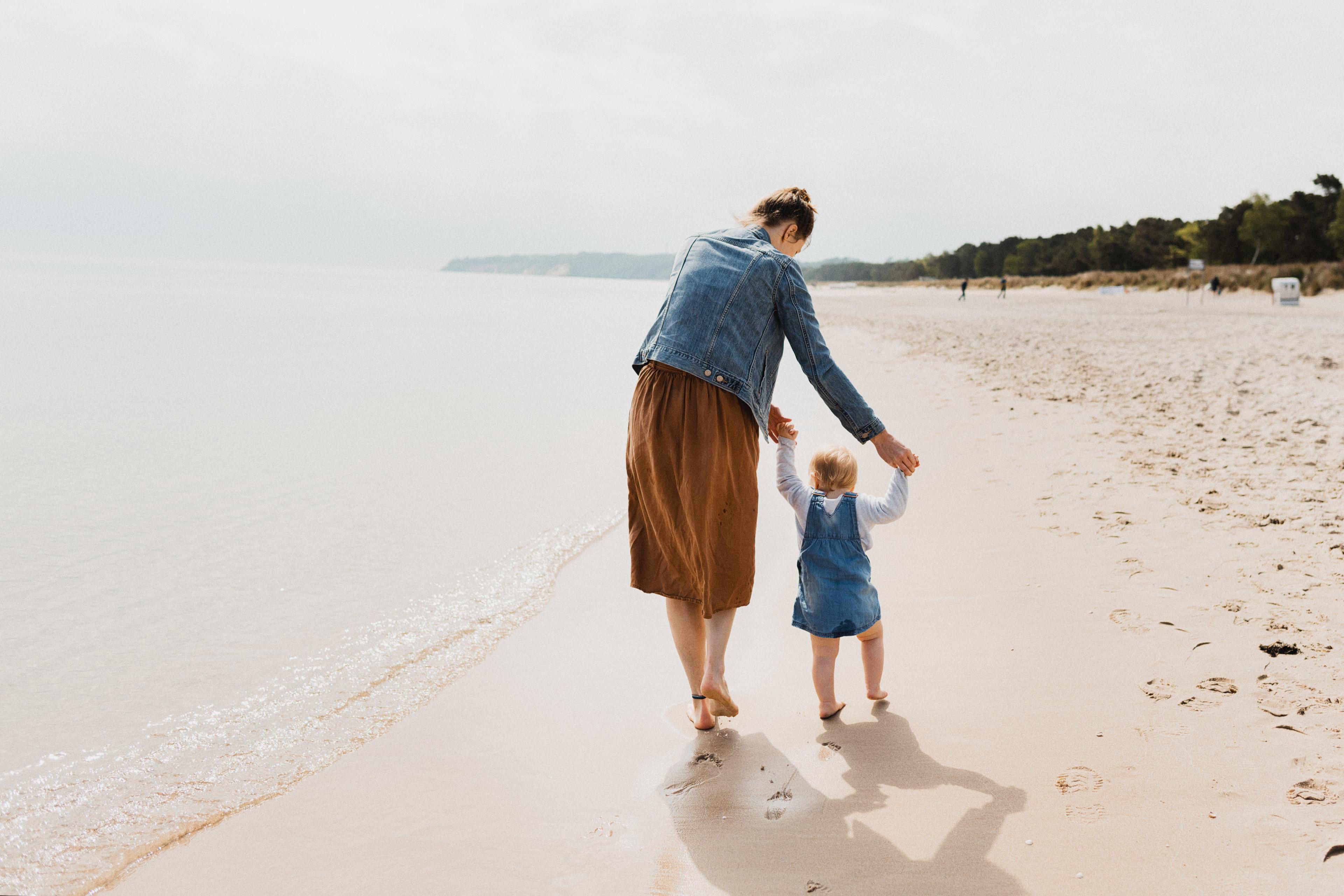 Schritt Mama Familienurlaub Urlaub mit