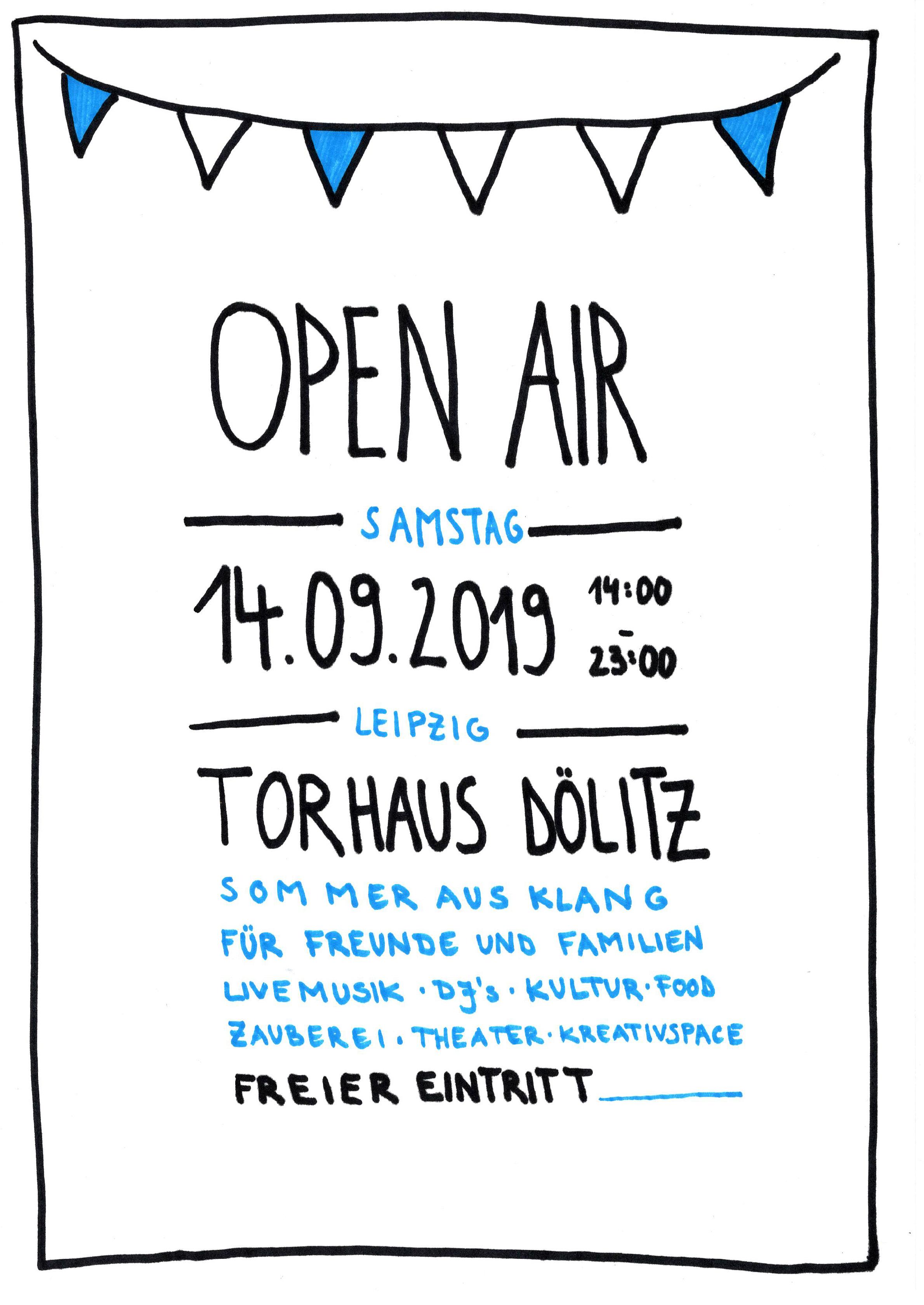 TEASER Kulturfestival Flyer Torhaus Dölitz