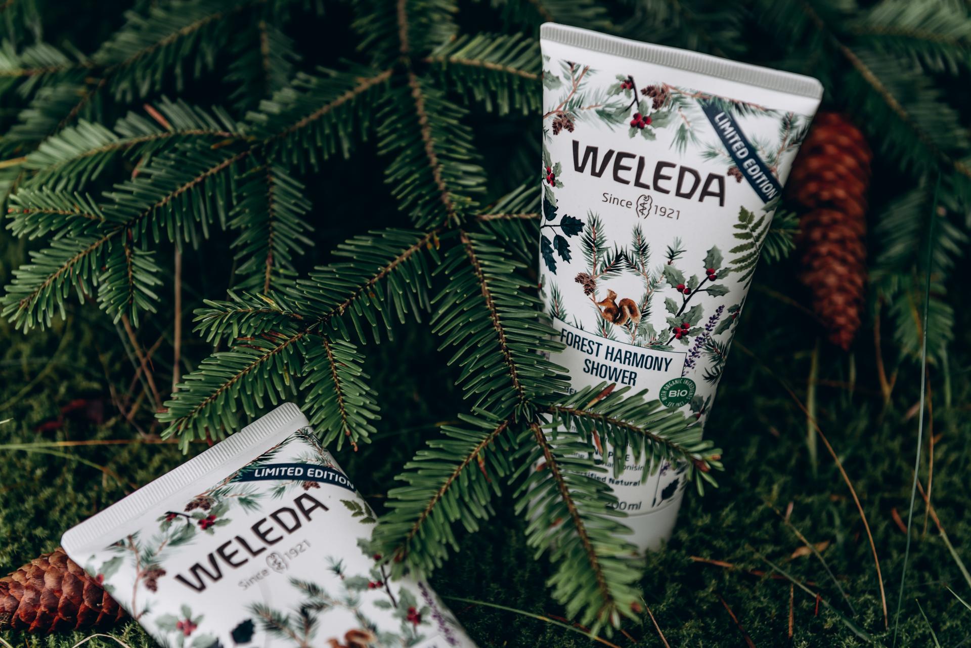 Weleda Forest Harmony Shower Cremedusche Waldbaden