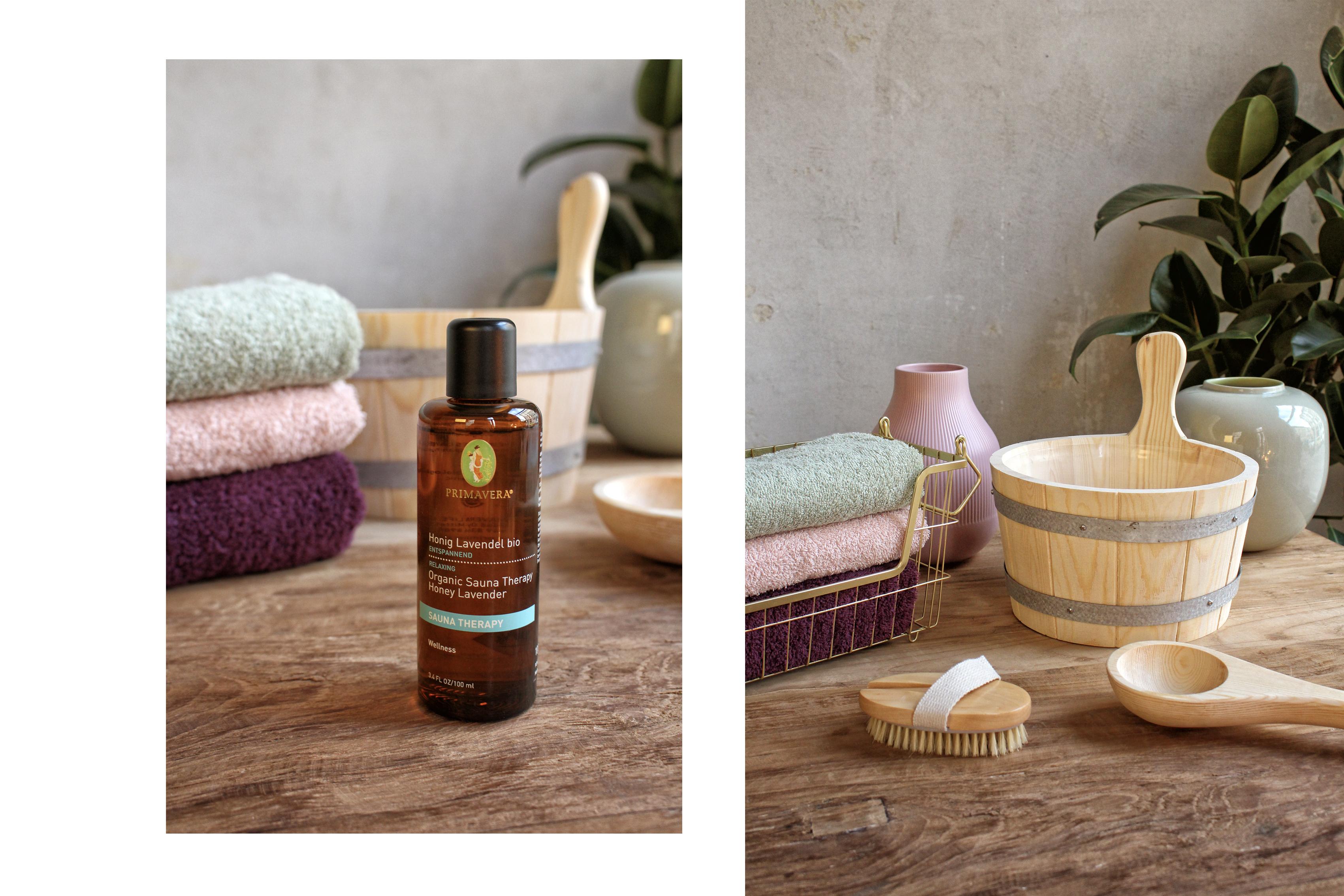 Primavera Sauna Aufguss Honig Lavendel bio
