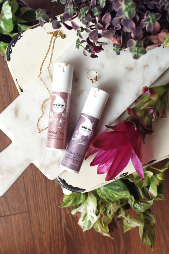 Perfect Day und Luxury Night Cream von cobicos Naturkosmetik