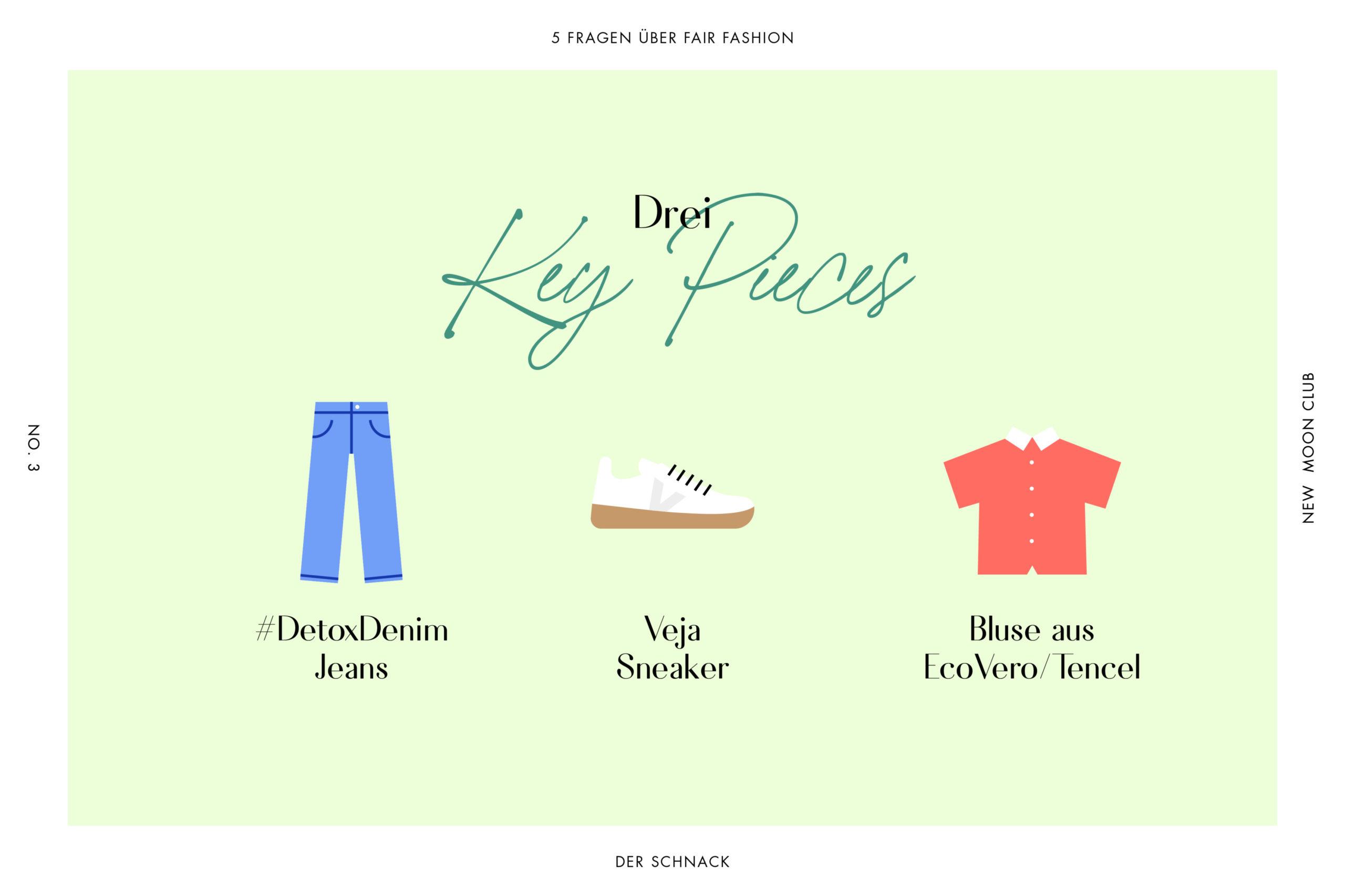 drei Key Pièces faire Mode