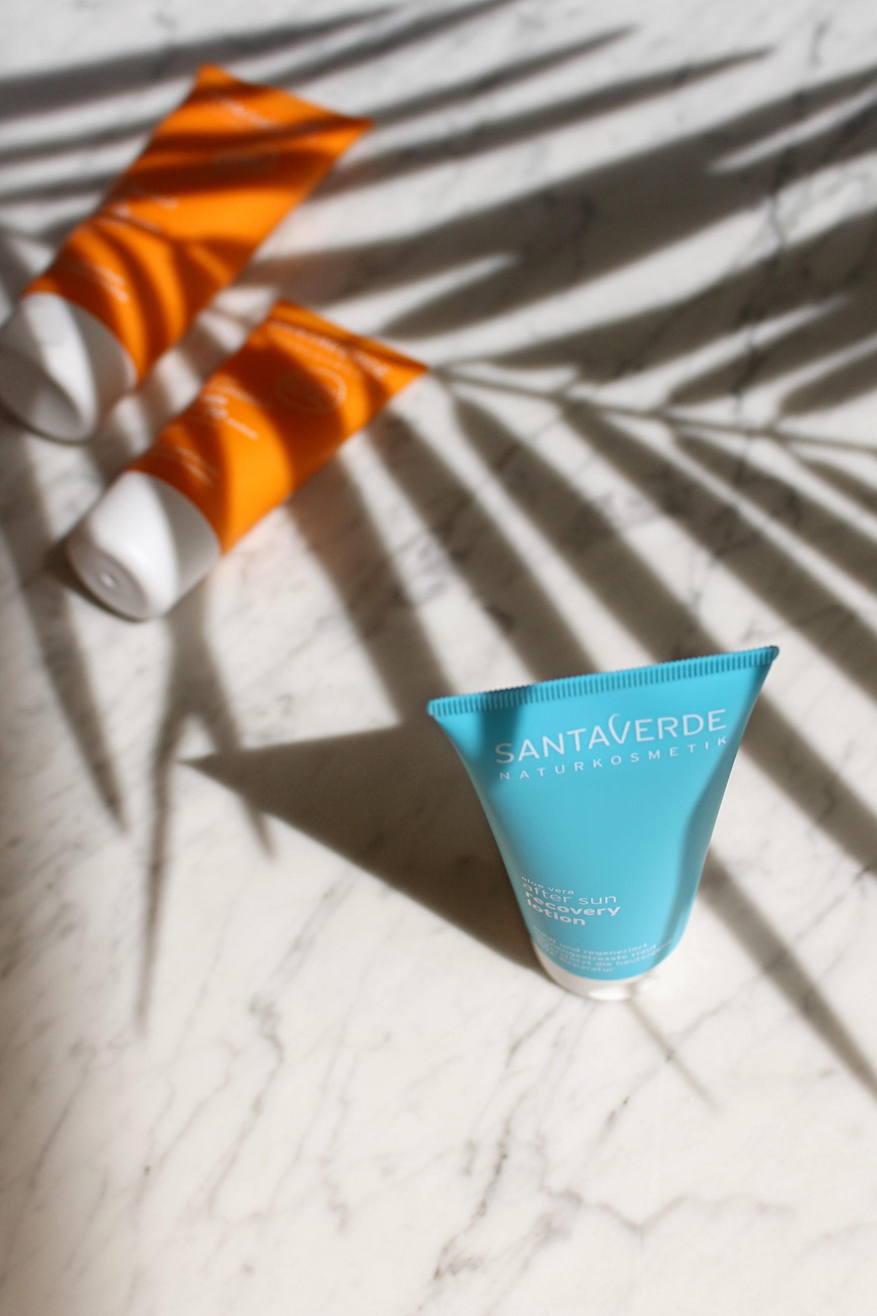 Santaverde Naturkosmetik Sun Protect After Sun Pflege